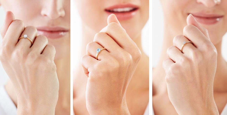 Modne pierścionki zaręczynowe Apart