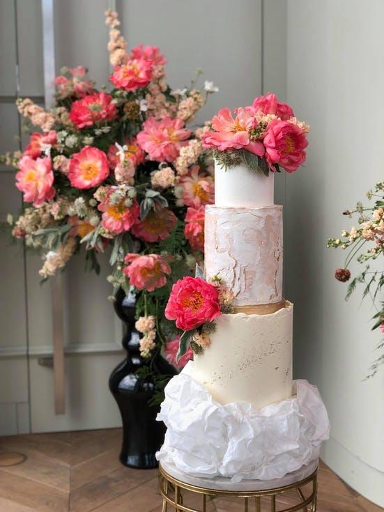 luksusowy tort weselny