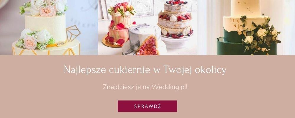 torty weselne - najlepsze cukiernie