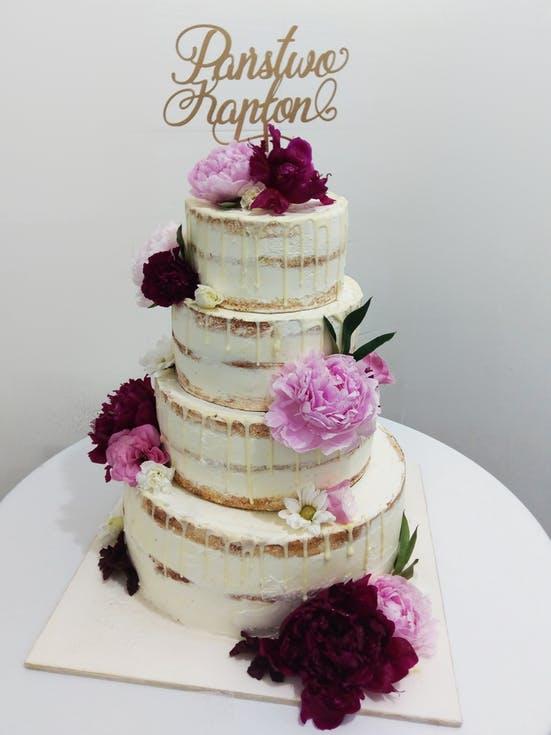 torty weselne z topperem