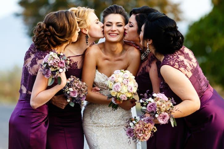 pomysł na wesele śliwkowy