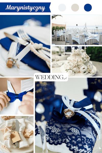 wesele w stylu marynistycznym