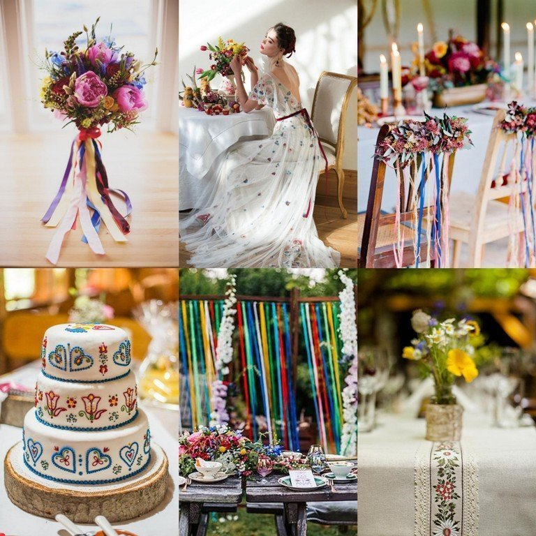 Motyw przewodni wesela - folklor