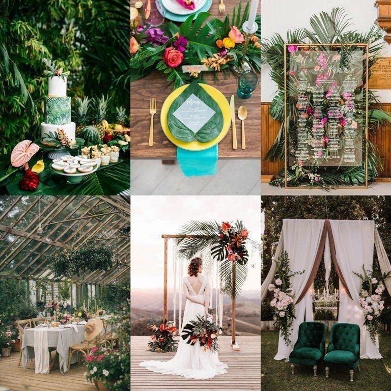 Motyw przewodni wesela - tropiki