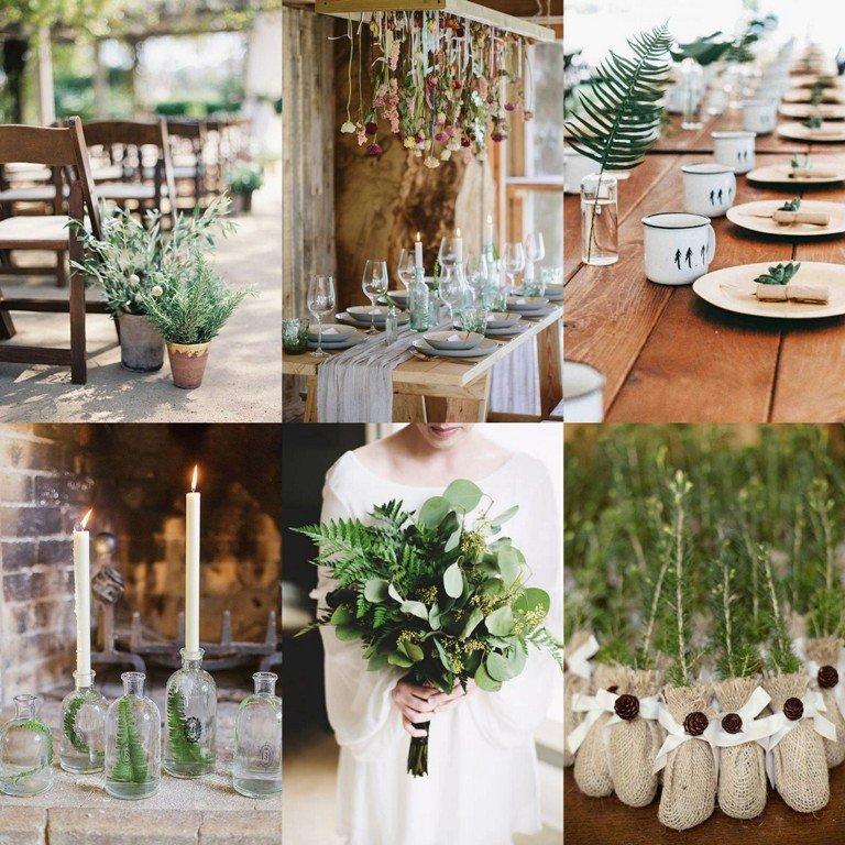 Motyw przewodni wesela - ekologia