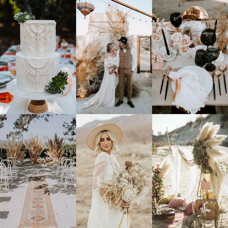 Motyw przewodni wesela - pustynia