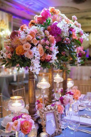 Styl wesela - kwiaty
