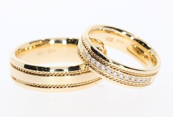 jak nosić obrączki po ślubie