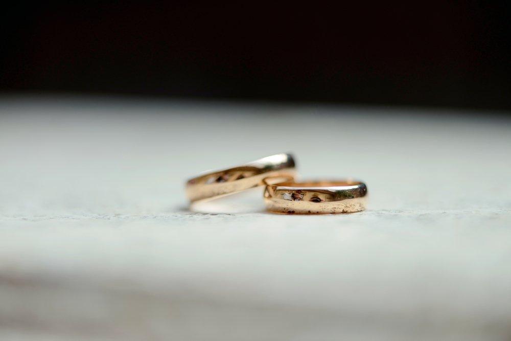 Obrączki po ślubie
