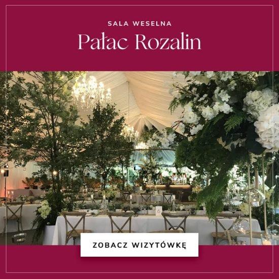 sale weselne w województwie mazowieckim - Pałac Rozalin