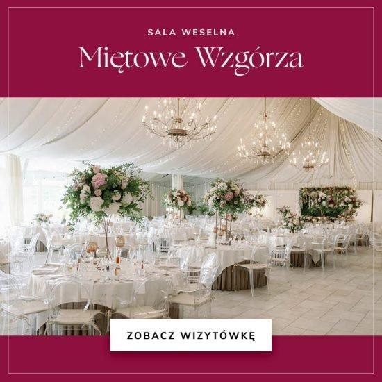 sale weselne w województwie mazowieckim - Miętowe Wzgórza