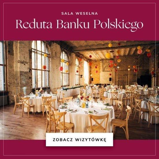 sale weselne w województwie mazowieckim - Reduta Banku Polskiego