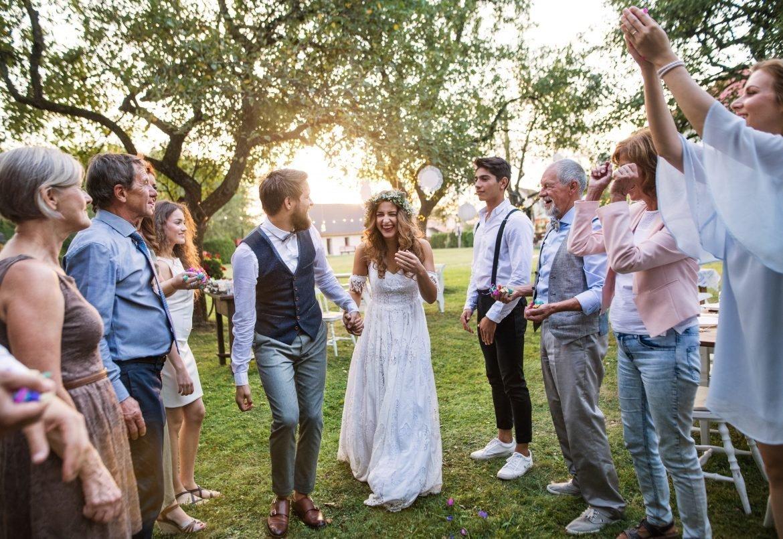 para młoda goście weselni