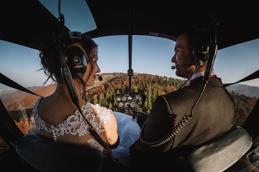 oryginalny transport na wesele