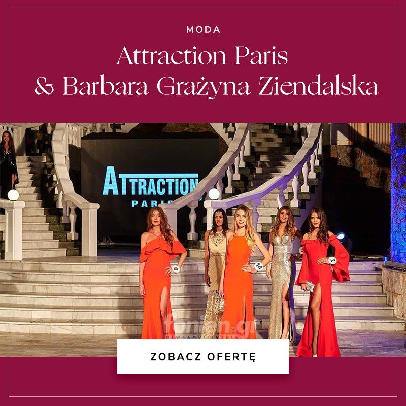 Attraction Paris & Barbara Grażyna Ziendalska