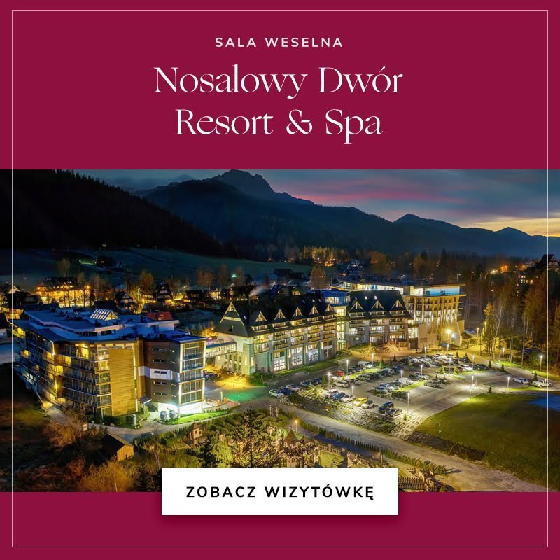 Nosalowy Dwór Resort & Spa Wedding.pl