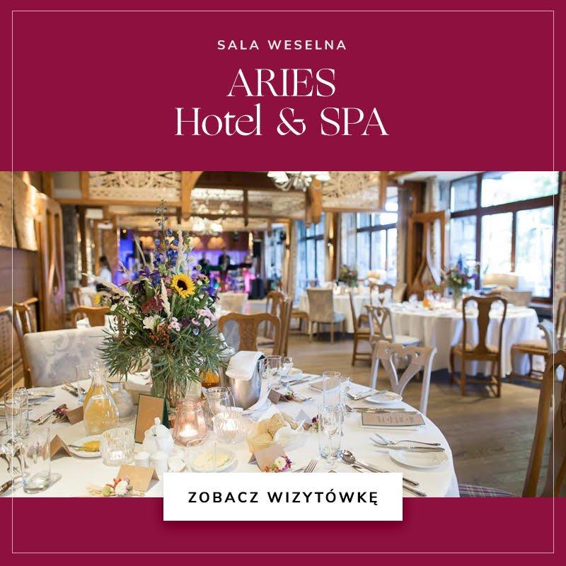 Sala weselna ARIES Hotel & Spa