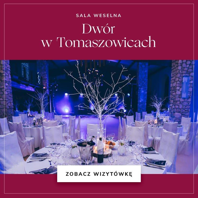 Sala weselna Dwór w Tomaszowicach