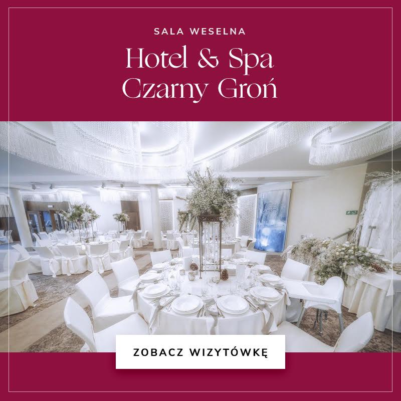 Sala weselna Hotel & Spa Czarny Groń