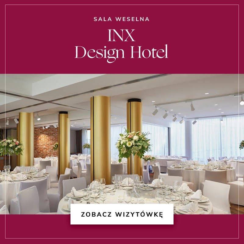 Sala weselna INX Design Hotel