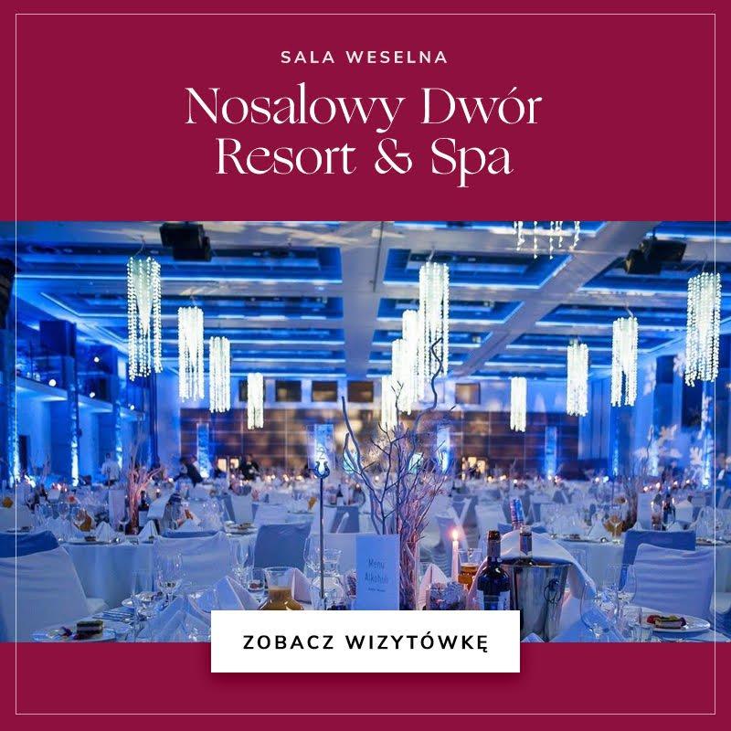 Sala weselna Nosalowy Dwór Resort & Spa