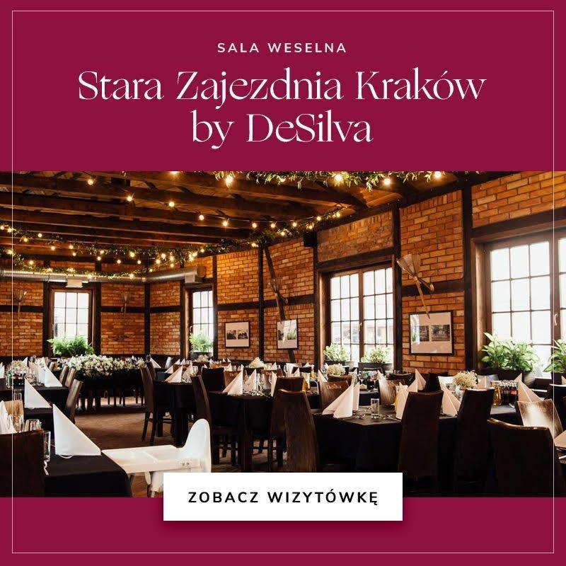 Sala weselna Stara Zajezdnia Kraków by DeSilva