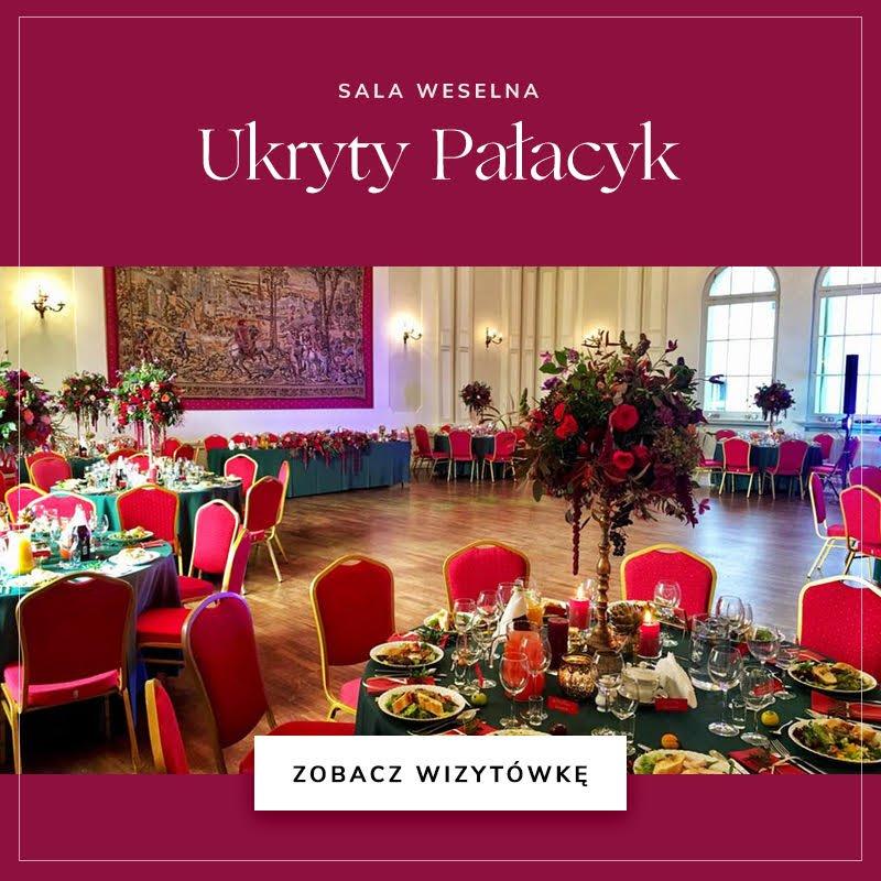 Sala weselna Ukryty Pałacyk
