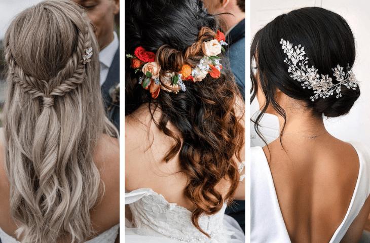 Najmodniejsze Upięcia ślubne 20192020 6 Gorących Trendów