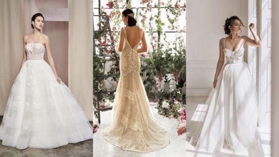 najpiękniejsze suknie ślubne 2020