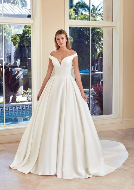najpiękniejsze suknie ślubne 2020 - Demetrios