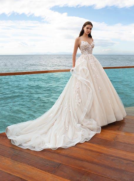 najpiękniejsze suknie ślubne 2020 - Cosmobella