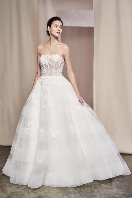 najpiękniejsze suknie ślubne 2020 - Justin Alexander