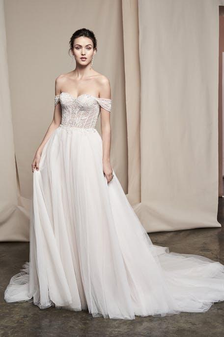 najpiękniejsze suknie ślubne - Justin Alexander