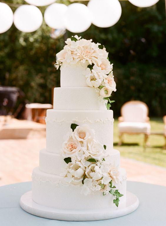 Klasyczny tort weselny