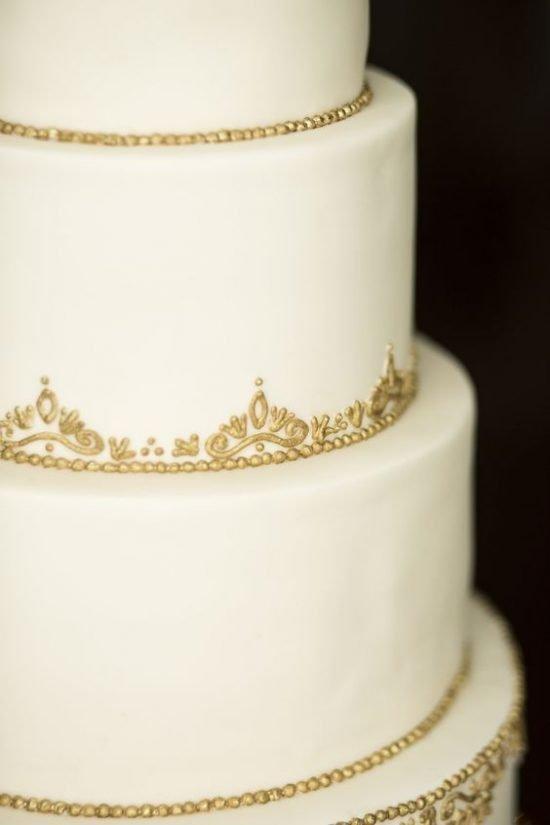 Dekorowane torty weselne