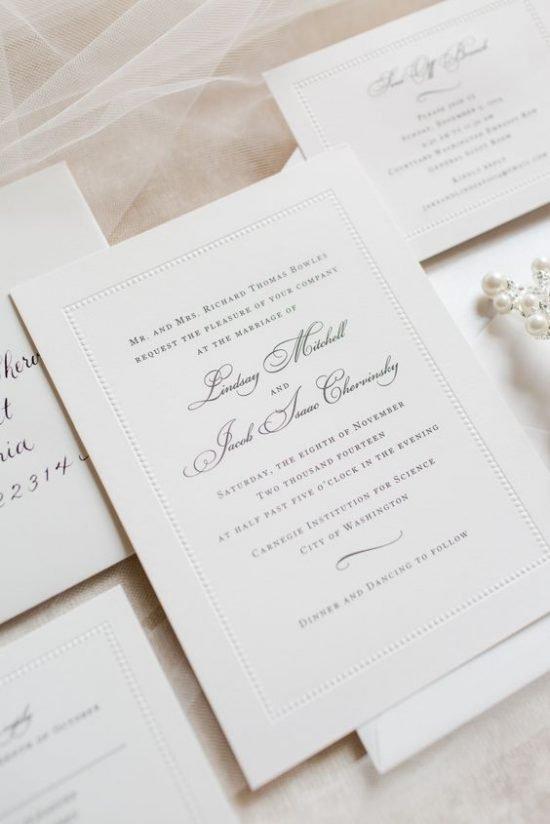 Zaproszenia ślubne - piękne inspiracje