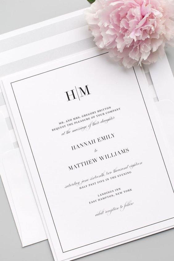 Najpiękniejsze Zaproszenia ślubne Inspiracje Weddingpl
