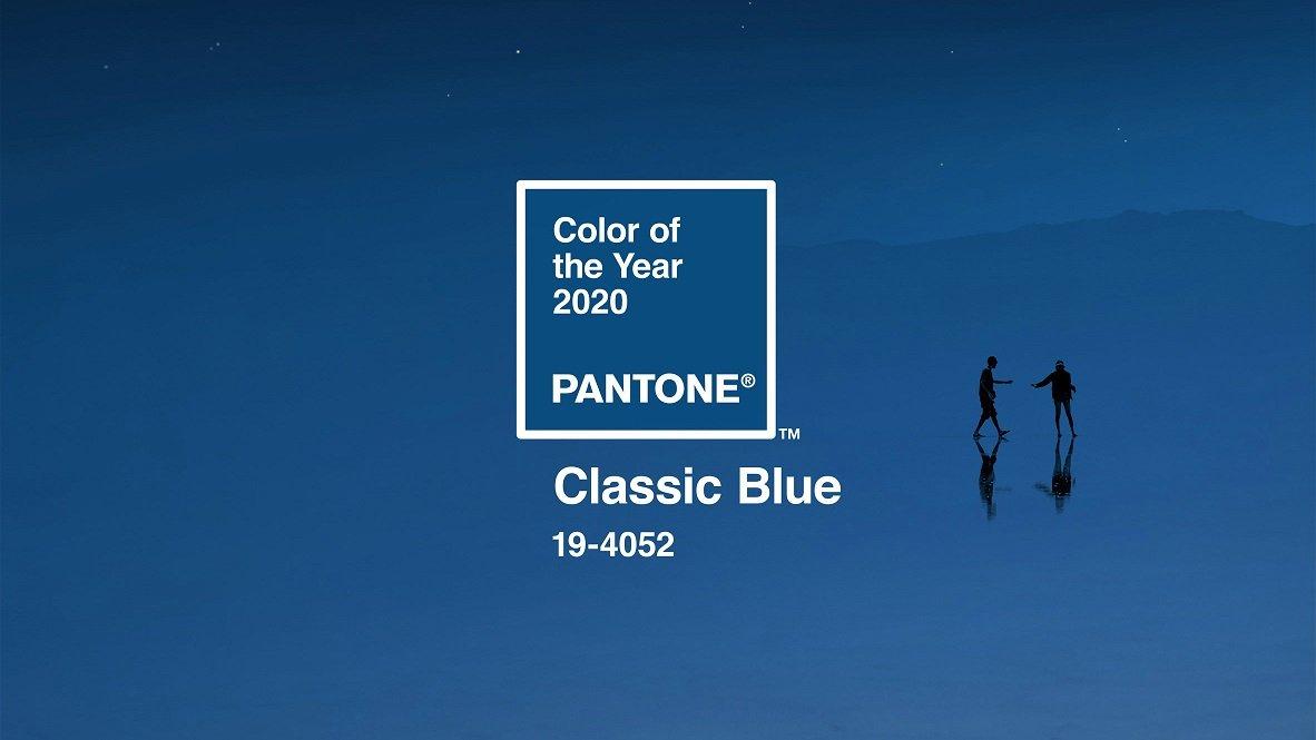 wesele w kolorze Classic Blue Pantone