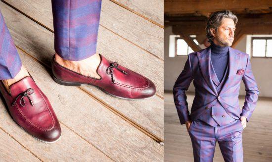 Nietypowe buty ślubne dla niego - loafersy2