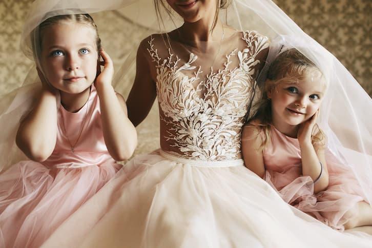 organizacja ślubu i wesela panna młoda dzieci