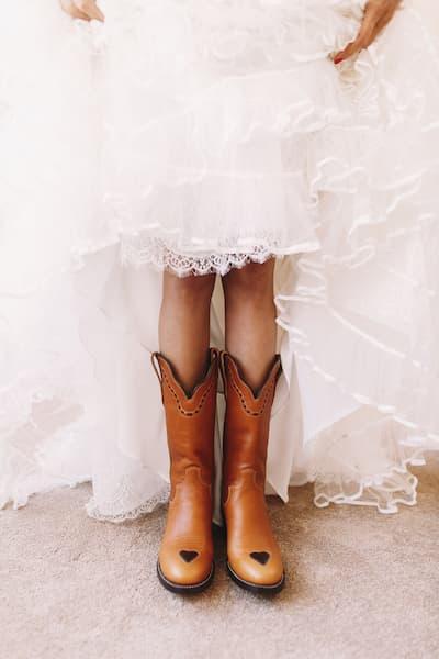 panna młoda kowbojki ślub w las vegas
