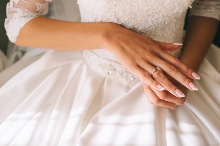 panna młoda po ślubie