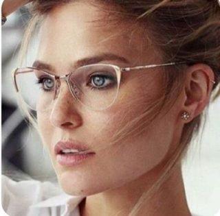 Panna Młoda w okularach - inspiracje