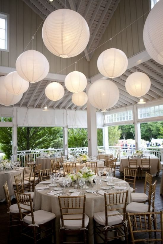 papierowe dekoracje weselne - zdjęcie 7