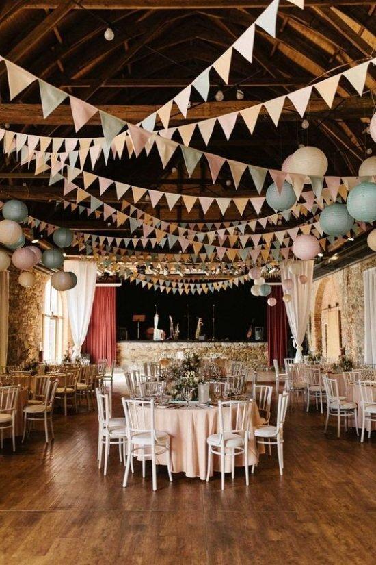 papierowe dekoracje weselne - zdjęcie 5