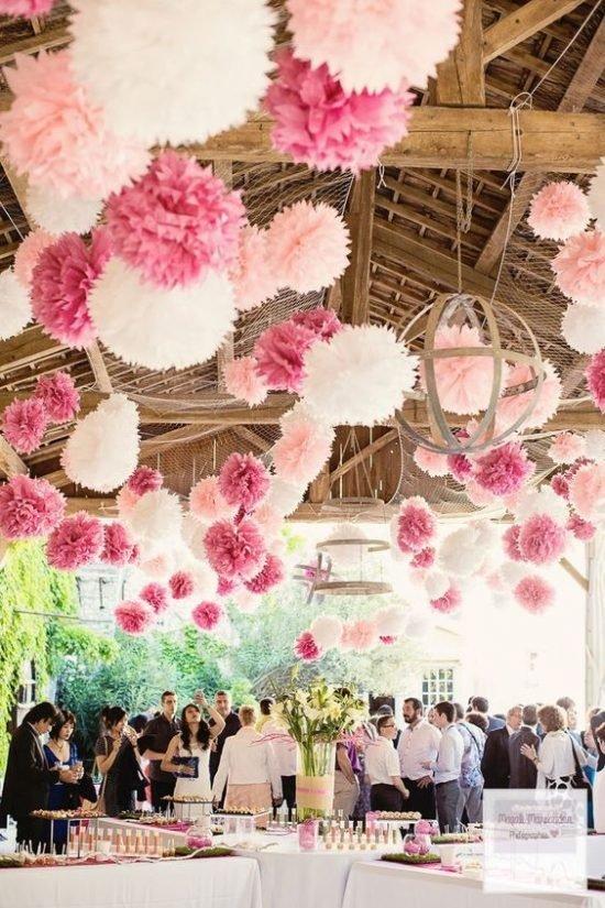 papierowe dekoracje weselne - zdjęcie 6