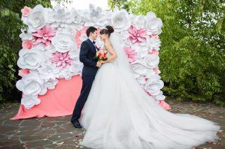 papierowe dekoracje weselne - zdjęcie okładkowe