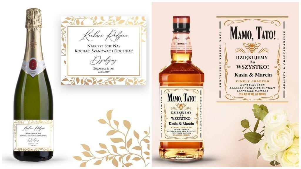 Alkohol na prezent dla rodziców