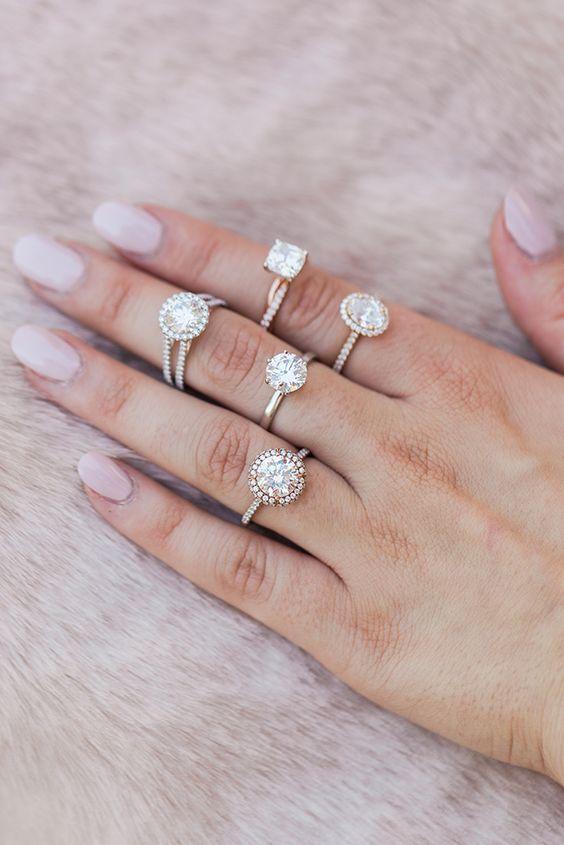 Pierścionki Zaręczynowe Z Białego Złota Wedding Pl Radzi