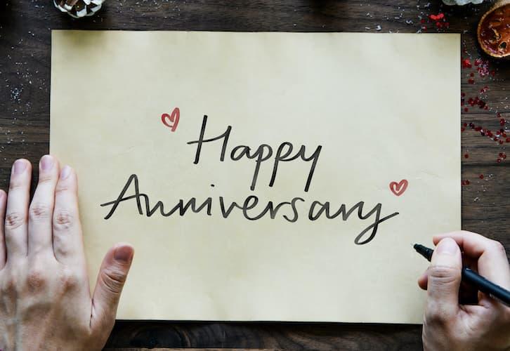 rocznica ślubu życzenia